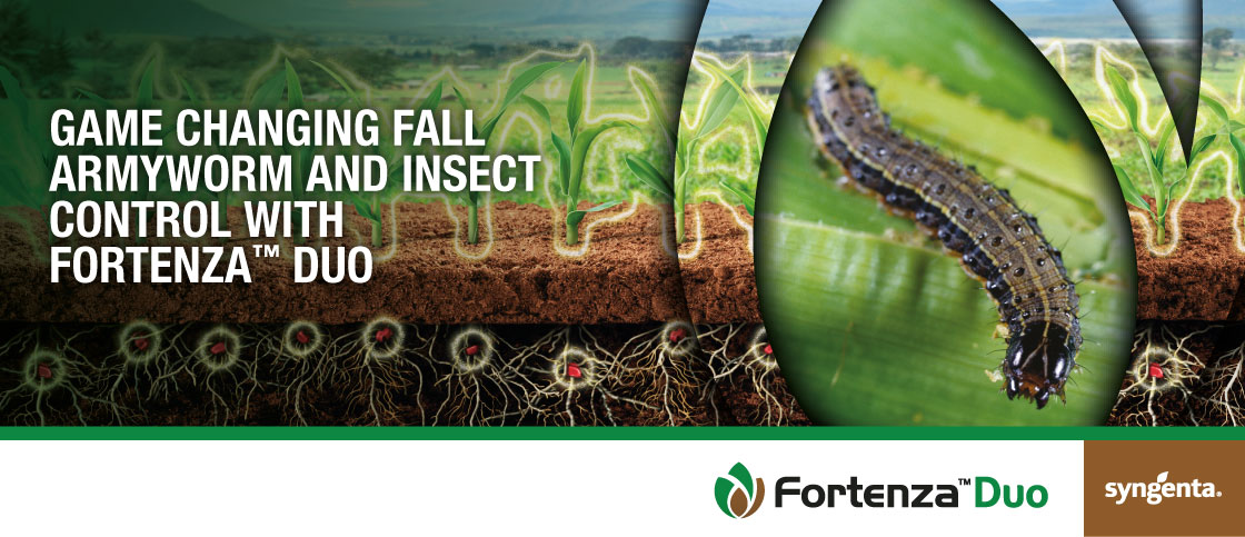 """""""Game Changing Fall Army Worm and Insect control with Fortenza Duo"""""""